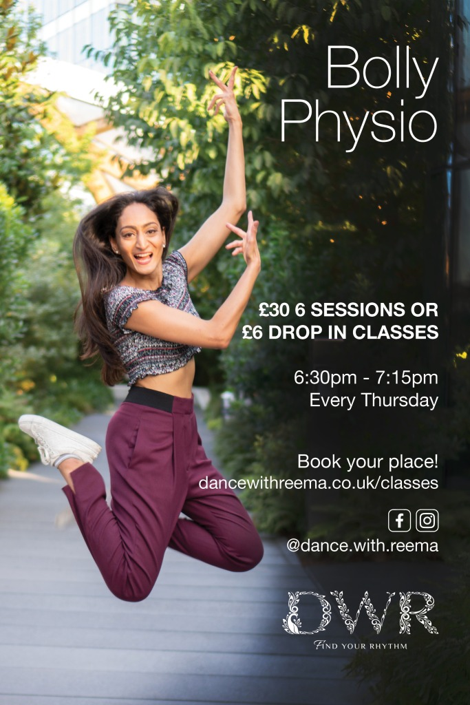 Bollywood online dance and fitness class with physio technique